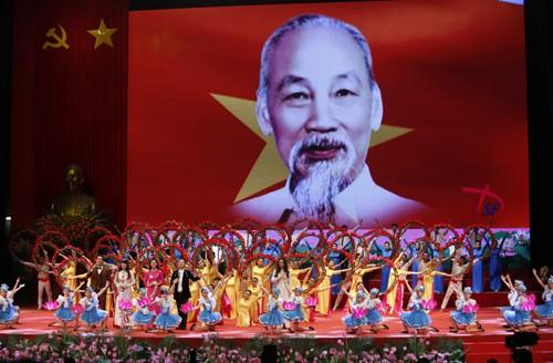 Hình ảnh Lễ kỷ niệm 125 năm Ngày sinh Chủ tịch Hồ Chí Minh ảnh 14