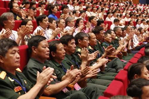 Hình ảnh Lễ kỷ niệm 125 năm Ngày sinh Chủ tịch Hồ Chí Minh ảnh 18