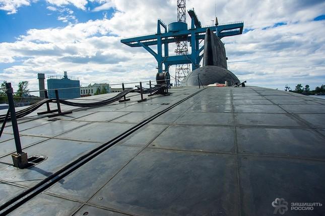 Hiện trạng tàu ngầm 'sát thủ đại dương' của Nga ảnh 12