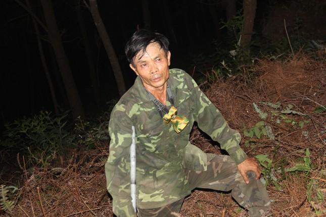 Rừng thông cháy rừng rực trong đêm ở Nghệ An ảnh 11