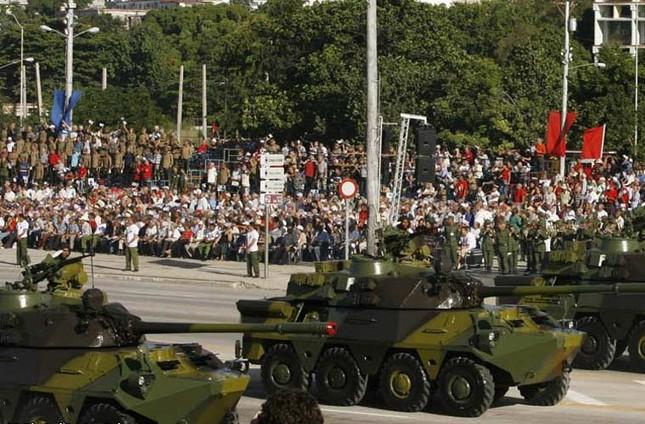 Nhìn gần dàn vũ khí tự chế của Quân đội Cuba ảnh 1