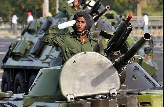 Nhìn gần dàn vũ khí tự chế của Quân đội Cuba ảnh 3
