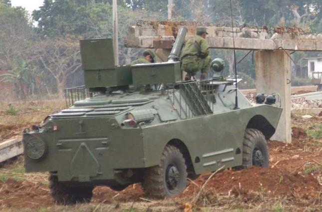 Nhìn gần dàn vũ khí tự chế của Quân đội Cuba ảnh 5