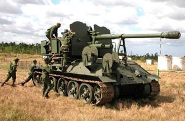 Nhìn gần dàn vũ khí tự chế của Quân đội Cuba ảnh 6