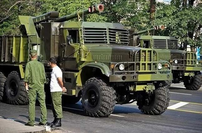 Nhìn gần dàn vũ khí tự chế của Quân đội Cuba ảnh 7