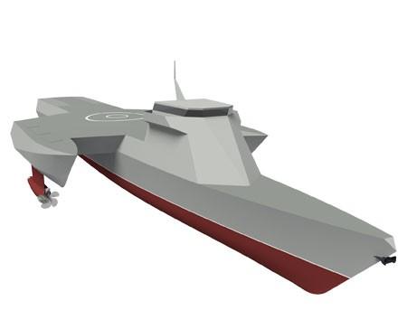 Chi tiết tàu chiến ba thân kỳ quái của Nga ảnh 1