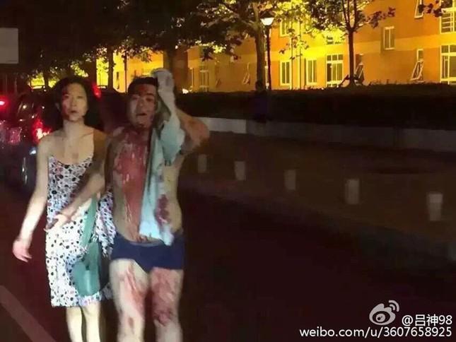 Cảnh 'màn trời chiếu đất' sau vụ nổ lớn ở Trung Quốc ảnh 3
