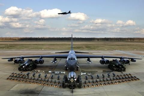 Mỹ điều máy bay ném bom hiện đại nhất đến Thái Bình Dương ảnh 1