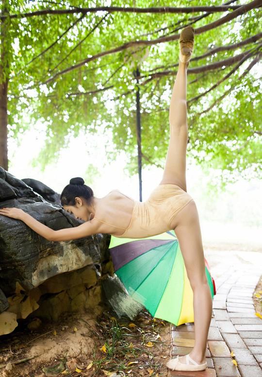 Vẻ đẹp ngọt ngào của mỹ nhân trường múa ảnh 11