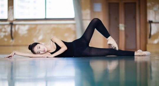 Vẻ đẹp ngọt ngào của mỹ nhân trường múa ảnh 14