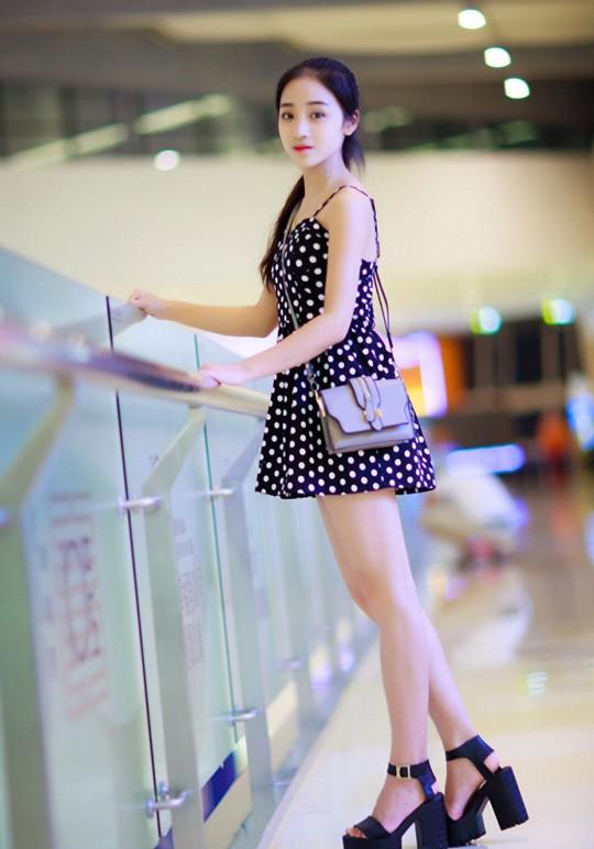 Vẻ đẹp ngọt ngào của mỹ nhân trường múa ảnh 5