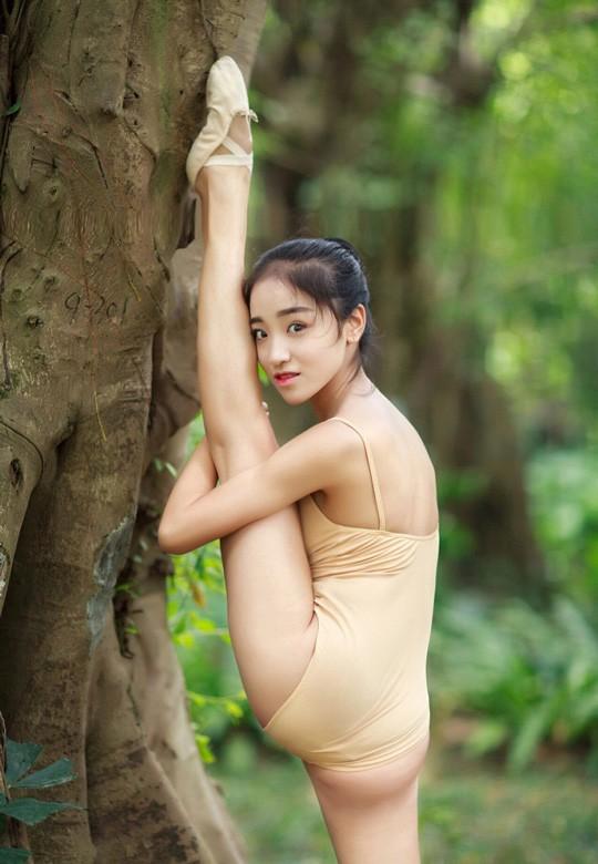 Vẻ đẹp ngọt ngào của mỹ nhân trường múa ảnh 7