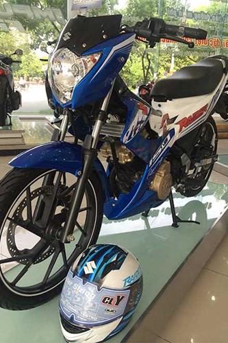 Chi tiết Suzuki Raider 'phiên bản GP' mới ra tại Việt Nam ảnh 10