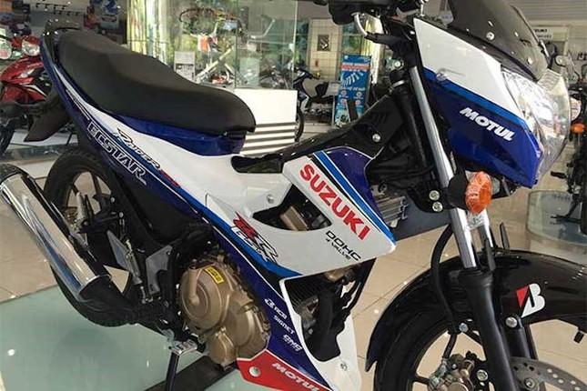 Chi tiết Suzuki Raider 'phiên bản GP' mới ra tại Việt Nam ảnh 1