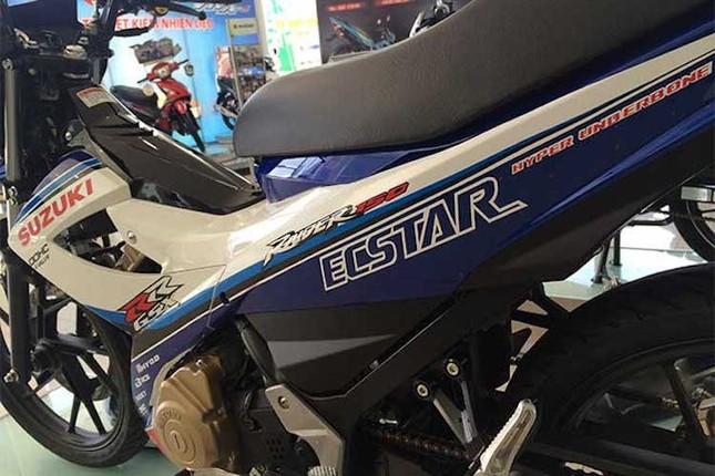 Chi tiết Suzuki Raider 'phiên bản GP' mới ra tại Việt Nam ảnh 2