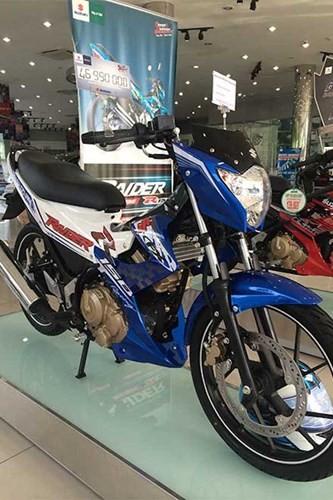 Chi tiết Suzuki Raider 'phiên bản GP' mới ra tại Việt Nam ảnh 3