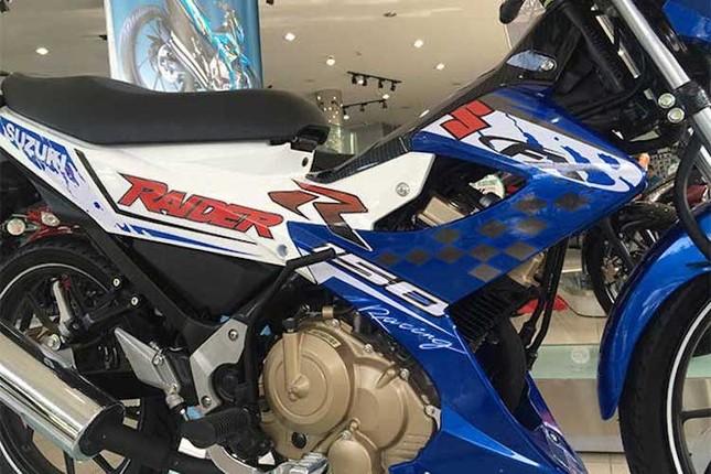 Chi tiết Suzuki Raider 'phiên bản GP' mới ra tại Việt Nam ảnh 4