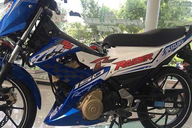 Chi tiết Suzuki Raider 'phiên bản GP' mới ra tại Việt Nam ảnh 5