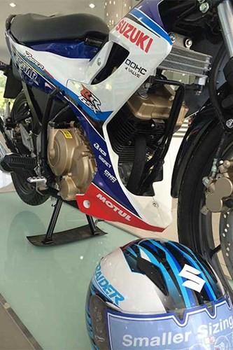 Chi tiết Suzuki Raider 'phiên bản GP' mới ra tại Việt Nam ảnh 7
