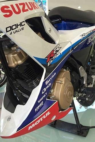 Chi tiết Suzuki Raider 'phiên bản GP' mới ra tại Việt Nam ảnh 8