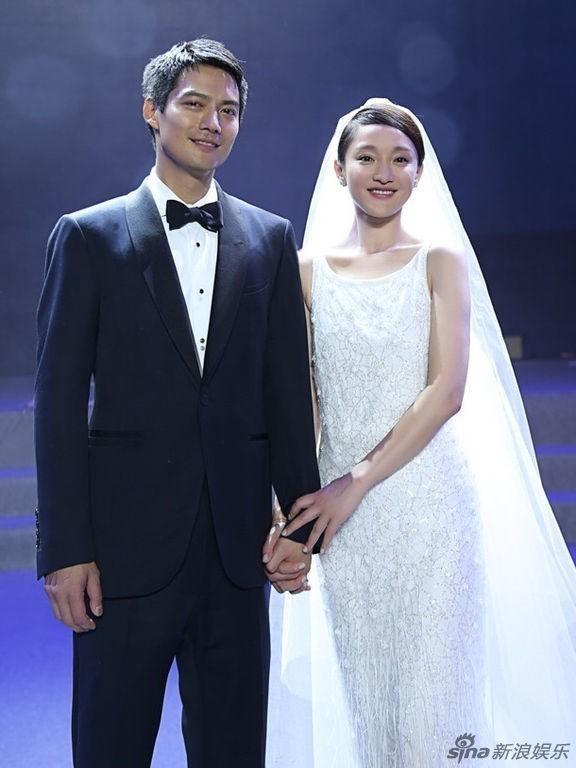 Những chiếc váy cưới của mỹ nhân Hoa ngữ ảnh 2