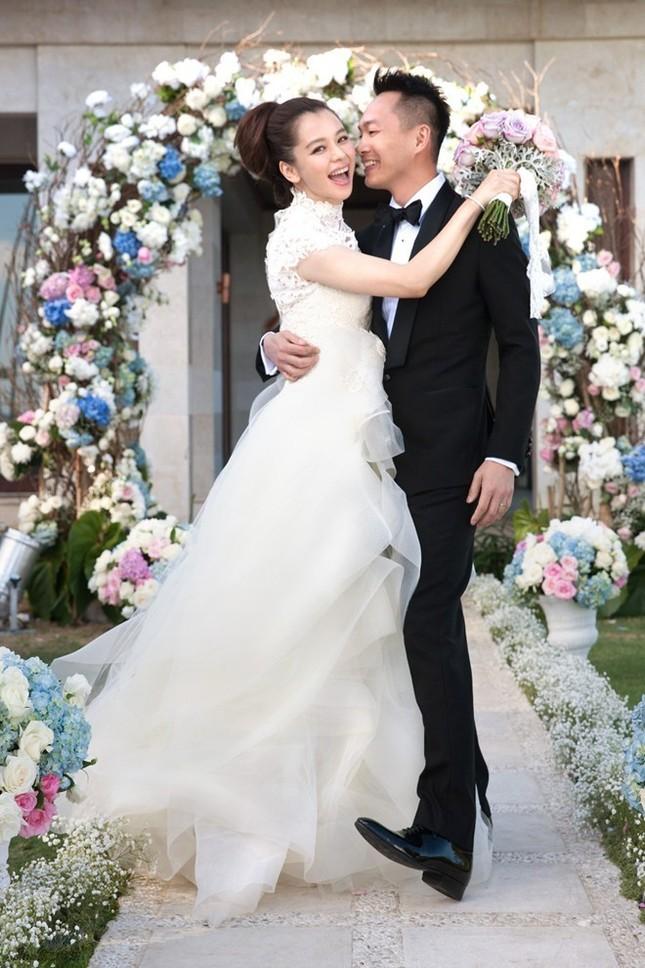 Những chiếc váy cưới của mỹ nhân Hoa ngữ ảnh 3