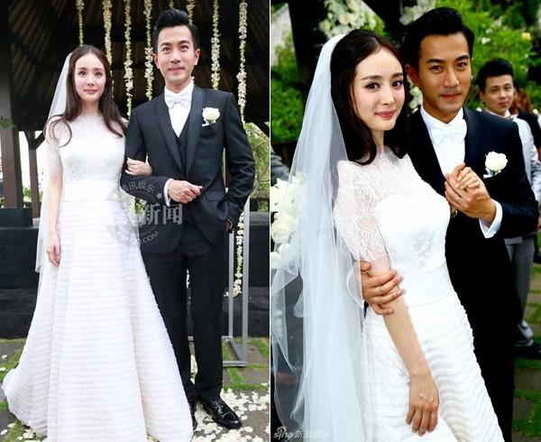 Những chiếc váy cưới của mỹ nhân Hoa ngữ ảnh 7
