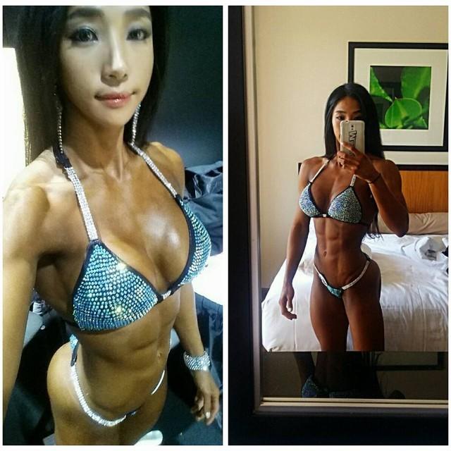 Mỹ nhân cơ bắp Hàn Quốc có khuôn mặt xinh như búp bê ảnh 12