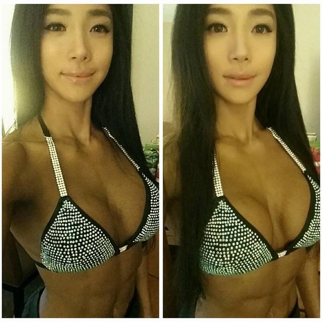 Mỹ nhân cơ bắp Hàn Quốc có khuôn mặt xinh như búp bê ảnh 15