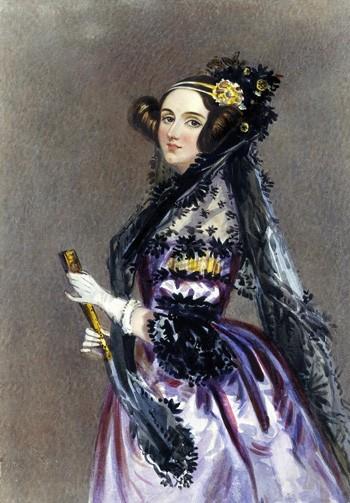 Lập trình viên đầu tiên trên thế giới là một mỹ nữ ảnh 1
