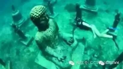 Kinh ngạc với ngôi đền bí ẩn dưới đáy biển ảnh 4
