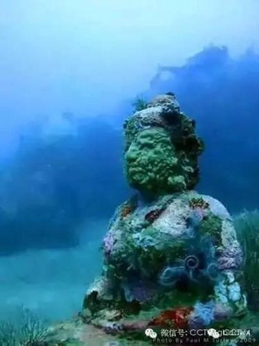 Kinh ngạc với ngôi đền bí ẩn dưới đáy biển ảnh 5