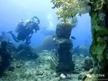 Kinh ngạc với ngôi đền bí ẩn dưới đáy biển ảnh 6