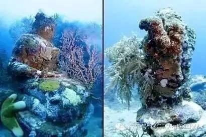 Kinh ngạc với ngôi đền bí ẩn dưới đáy biển ảnh 7