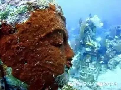 Kinh ngạc với ngôi đền bí ẩn dưới đáy biển ảnh 1