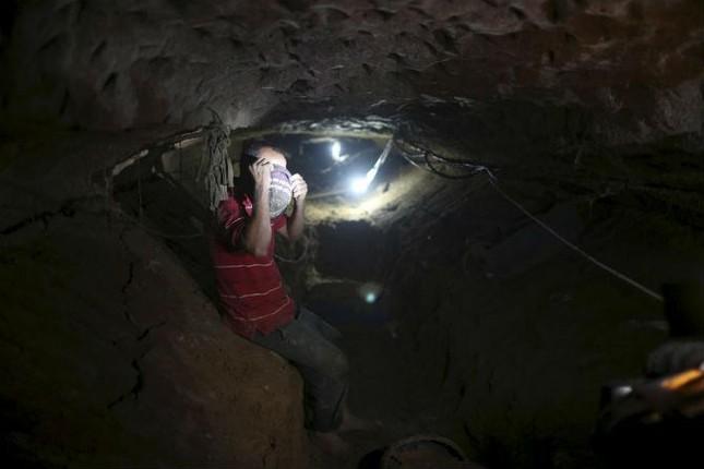 Bên trong đường hầm buôn lậu vũ khí tại Dải Gaza ảnh 7