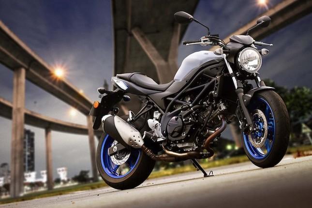 Suzuki SV650 sẽ 'tái xuất giang hồ' vào năm 2016 ảnh 7