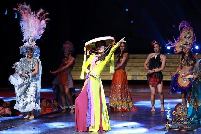Hành trình đẹp của Lan Khuê tại cuộc thi Hoa hậu Thế giới ảnh 10