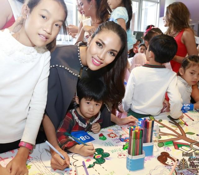 Hành trình đẹp của Lan Khuê tại cuộc thi Hoa hậu Thế giới ảnh 4