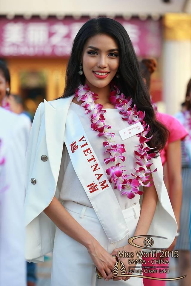 Hành trình đẹp của Lan Khuê tại cuộc thi Hoa hậu Thế giới ảnh 6
