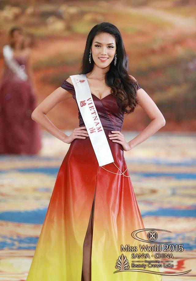 Hành trình đẹp của Lan Khuê tại cuộc thi Hoa hậu Thế giới ảnh 8