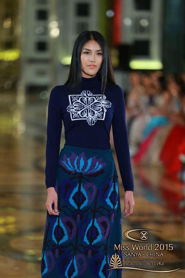 Hành trình đẹp của Lan Khuê tại cuộc thi Hoa hậu Thế giới ảnh 9