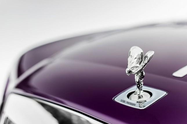 Cận cảnh Rolls-Royce Wraith màu tím độc nhất thế giới ảnh 1