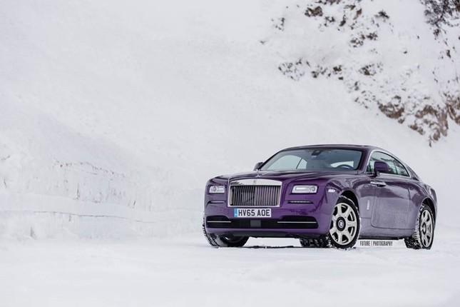 Cận cảnh Rolls-Royce Wraith màu tím độc nhất thế giới ảnh 5