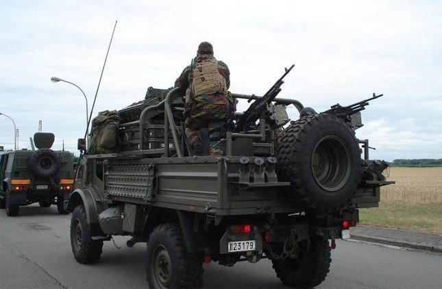 Sức mạnh đặc nhiệm chống khủng bố Bỉ ảnh 13