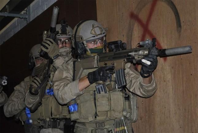 Sức mạnh đặc nhiệm chống khủng bố Bỉ ảnh 1