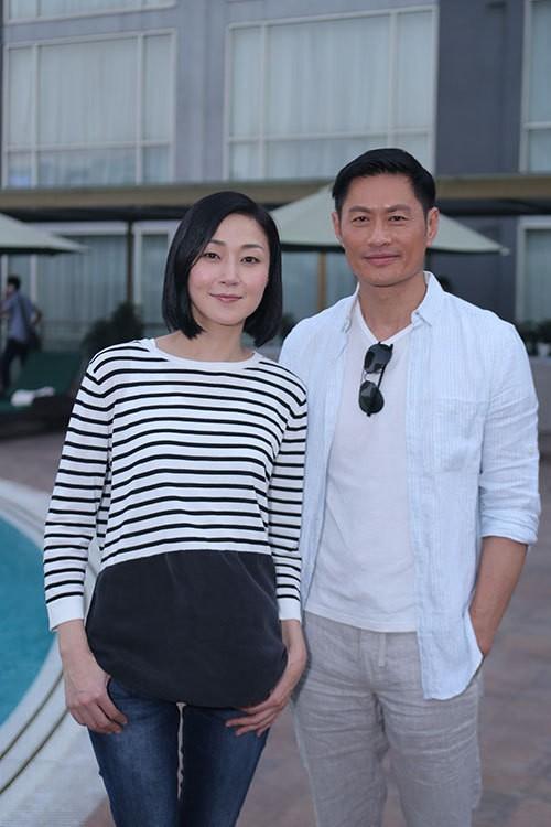 Dàn sao TVB giản dị trong buổi khai máy tại Việt Nam ảnh 6