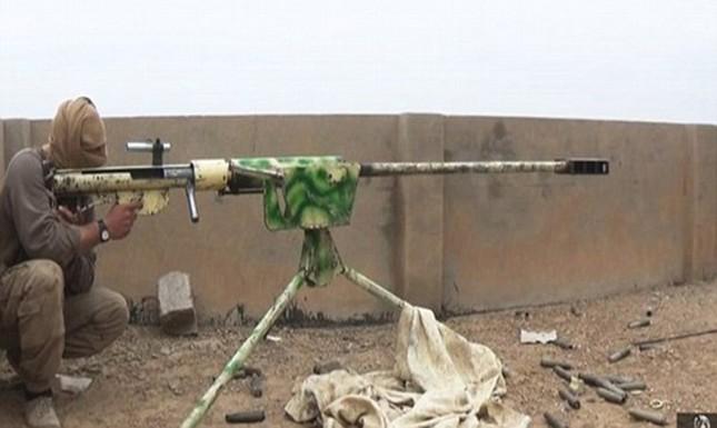 Tận thấy súng bắn tỉa 'có một không hai' của IS ảnh 1