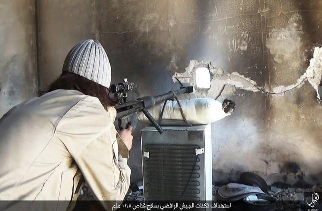 Tận thấy súng bắn tỉa 'có một không hai' của IS ảnh 4