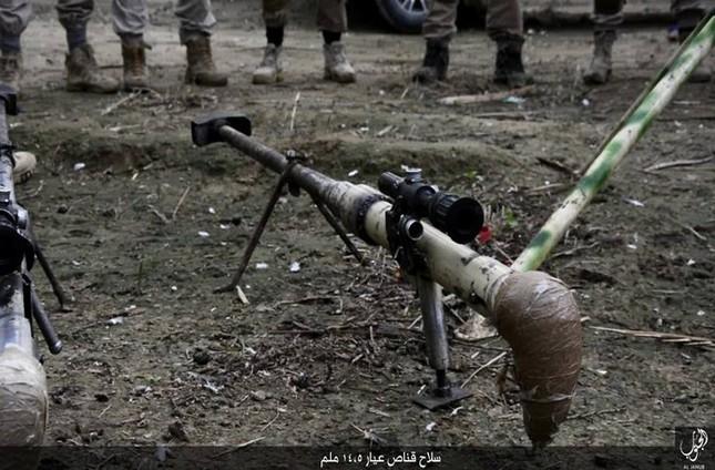 Tận thấy súng bắn tỉa 'có một không hai' của IS ảnh 5